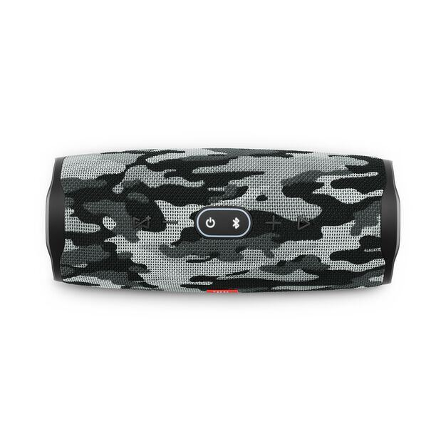 JBL Charge 4 - Black/White Camouflage - Portable Bluetooth speaker - Detailshot 1