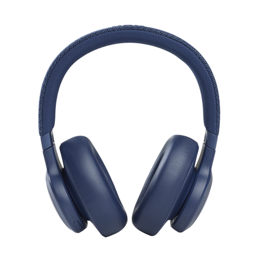 JBL Live 660NC - Blue - WIRELESS OVER-EAR NC HEADPHONES - Front
