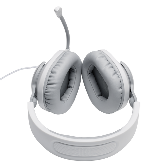 JBL Quantum 100 - White - Wired over-ear gaming headset with a detachable mic - Detailshot 5