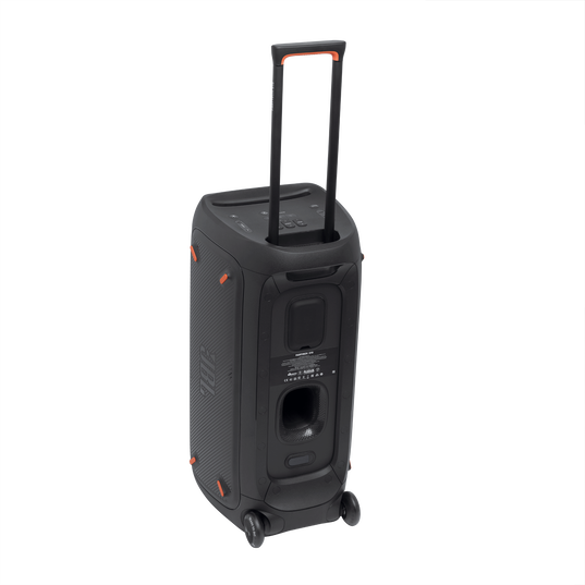 JBL Partybox 310 - Black - Portable party speaker with dazzling lights and powerful JBL Pro Sound - Detailshot 1