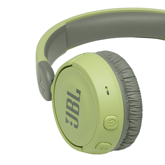 JBL Jr310BT - Green - Kids Wireless on-ear headphones - Detailshot 3