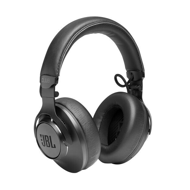 JBL CLUB ONE - Black - Wireless, over-ear, True Adaptive Noise Cancelling headphones inspired by pro musicians - Detailshot 6