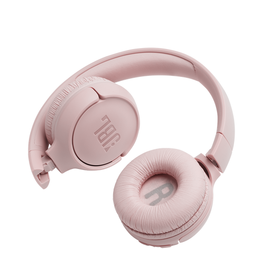 JBL TUNE 500BT - Pink - Wireless on-ear headphones - Detailshot 1