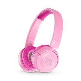 JBL JR300BT - Punky Pink - Kids Wireless on-ear headphones - Hero