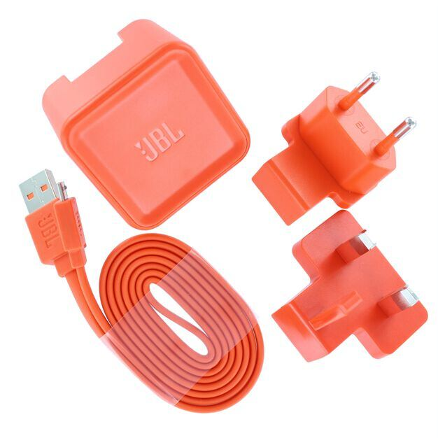 USB Adapter US, EU and UK  incl. charging cable 100cm, Flip, Charge, Pulse