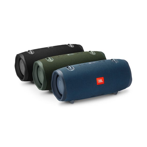 JBL Xtreme 2 - Forest Green - Portable Bluetooth Speaker - Detailshot 3