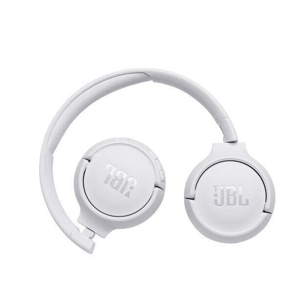 JBL TUNE 500BT - White - Wireless on-ear headphones - Detailshot 1