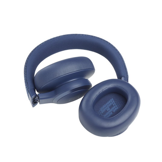 JBL Live 660NC - Blue - WIRELESS OVER-EAR NC HEADPHONES - Detailshot 5