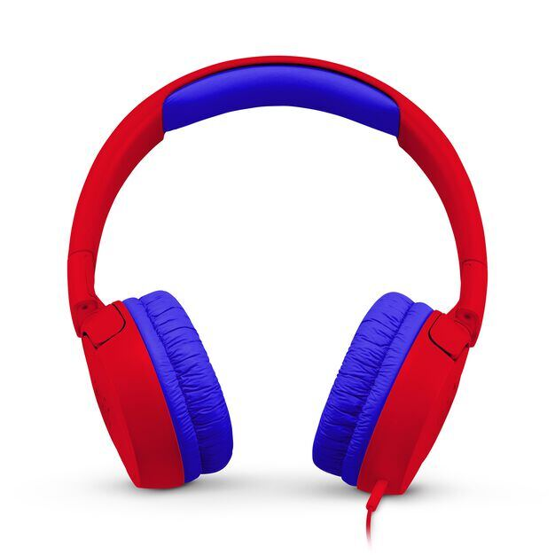 JBL JR300 - Spider Red - Kids on-ear Headphones - Front