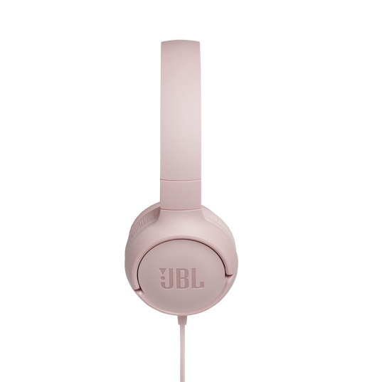 JBL TUNE 500 - Pink - Wired on-ear headphones - Detailshot 2